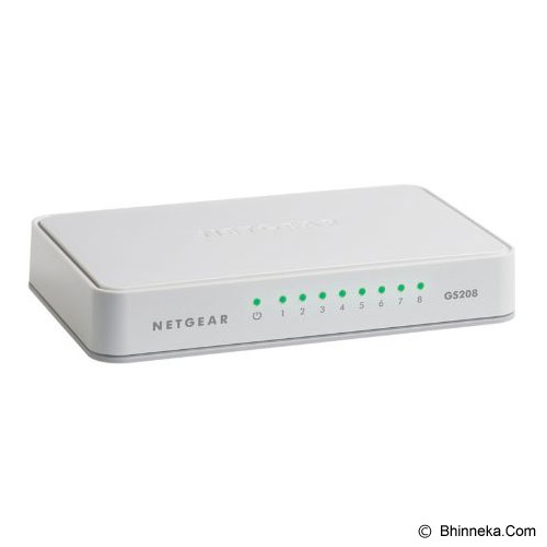 NETGEAR Switch [GS208] - Switch Unmanaged